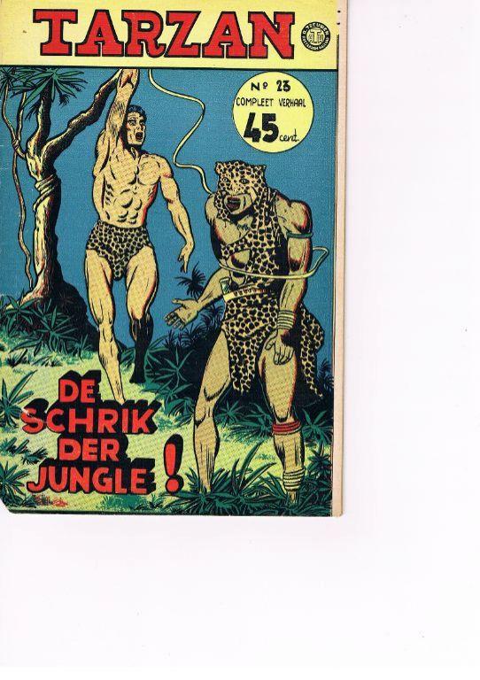 Tarzan ATH nr. 23 De schrik der jungle!