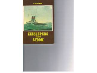 Zeeslepers onder stoom – G.J. de Boer
