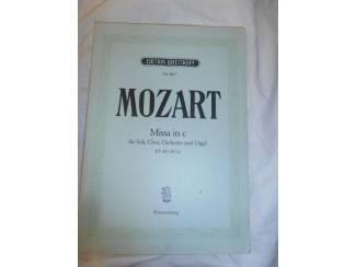 Bladmuziek 01. Mozart Missa in C KV 427 (417a).