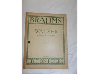 Bladmuziek 06. Brahms Walzer Opus 39.