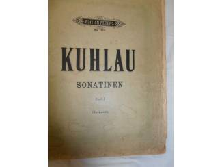 Bladmuziek 11. Kuhlau Sonatinen Band l.