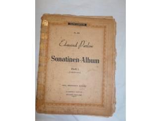Bladmuziek 12. Edmund Parlow Sonatinen-Album Heft l.