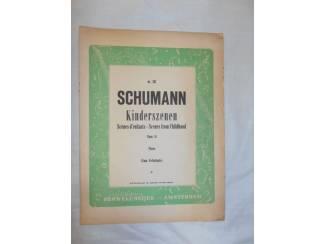 Bladmuziek 15. Schumann Opus 15. Kinderszenen.