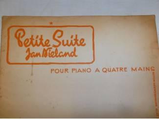Bladmuziek 18. Jan Nieland Petite suite 4 mains.