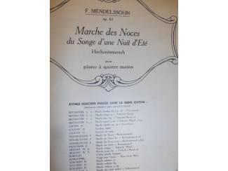 Bladmuziek 21. F. Mendelssohn Hochzeitsmarsch 4 mains.