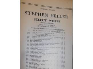 Bladmuziek 22. Stephen Heller select works.