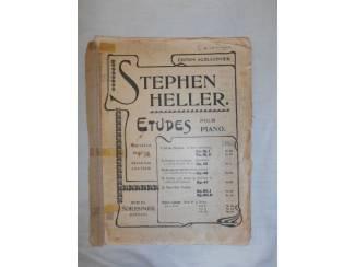 Bladmuziek 23. Stephen Heller Etudes pour piano.