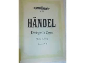 Bladmuziek 24. Händel Dettinger Te Deum.
