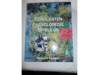 Tuinplanten encyclopedie op kleur