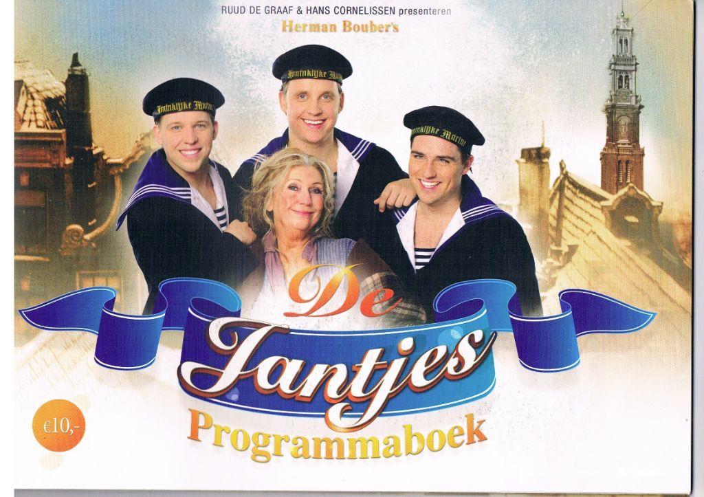 De Jantjes – Programmaboek van de musical