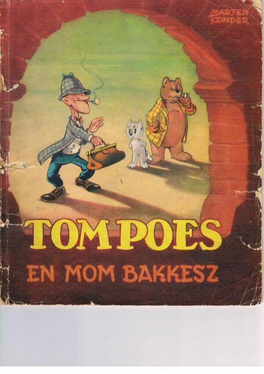 Tom Poes en Mom Bakkesz 1951