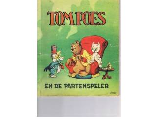 Tom Poes en de partenspeler 1952