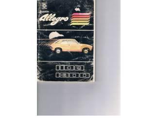 Handleiding Austin Allegro 1100 – 1300.