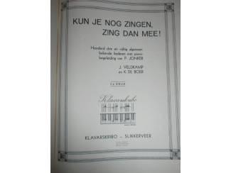 Bladmuziek Kun je nog zingen, zing dan mee! – Klavarskribo