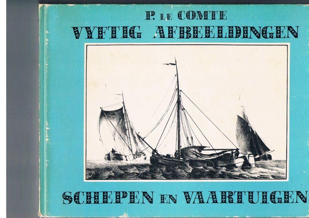 Vyftig afbeeldingen van schepen en vaartuigen