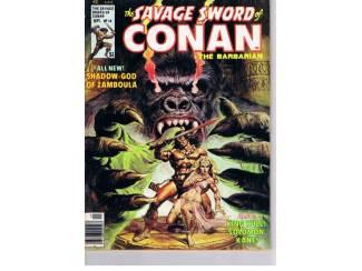 The savage sword of Conan the barbarian US 1976 nr. 14