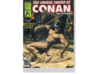 The savage sword of Conan the barbarian US 1980 nr. 53