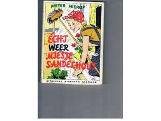 Jeugdboeken Echt weer Miesje Sandelhout – Pieter Nierop