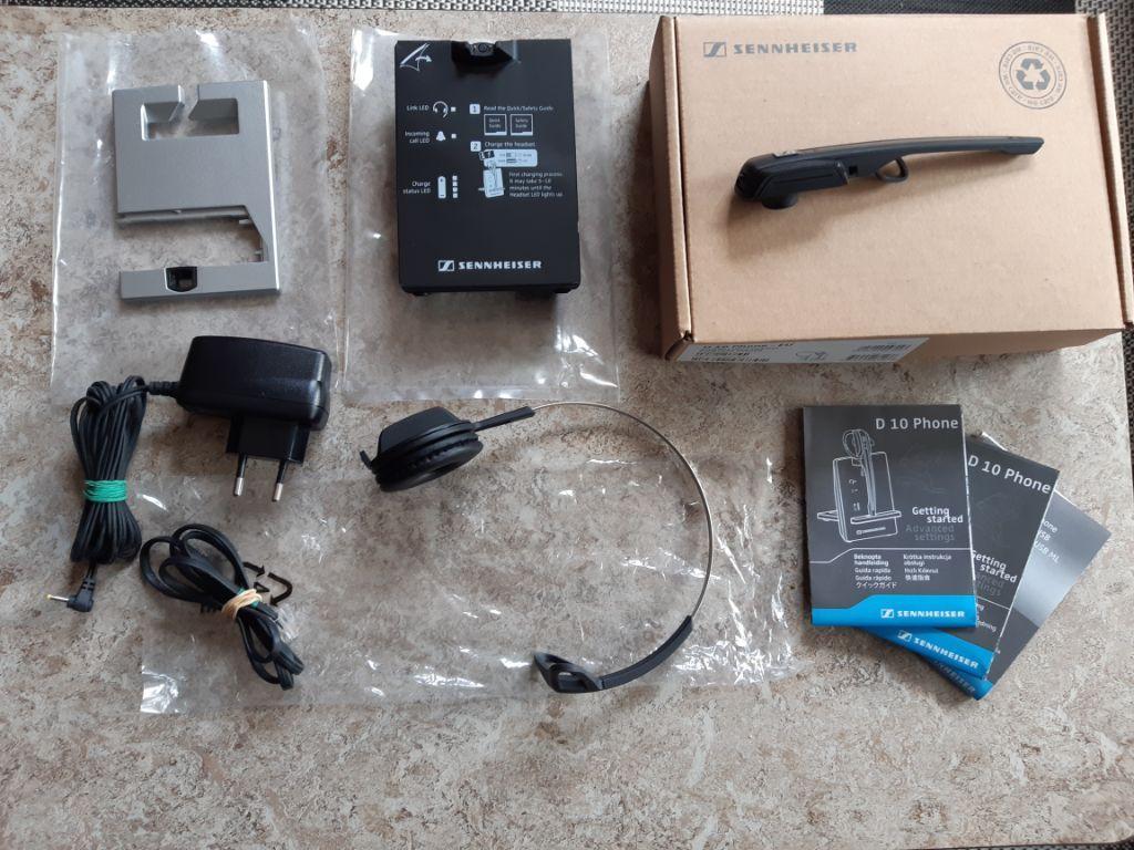 Sennheiser D10 Draadloze Headset + HSL10 Headset Lifter