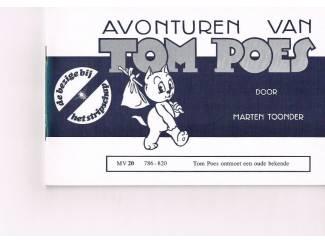Tom Poes MV 20 – Tom Poes ontmoet een oude bekende