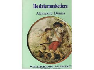 Alexandre Dumas – De drie musketiers – gekleurde voorkaft