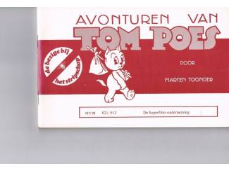 Tom Poes MV 21 – De Superfilm-onderneming