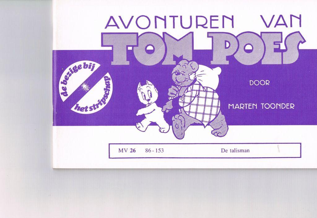Tom Poes MV 26 – De talisman