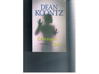 Thrillers en Spanning Geheugenfout – Dean Koontz