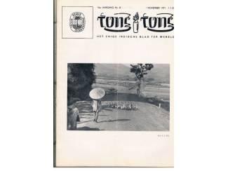 Tijdschriften Tong Tong 16e jaargang nr. 8 t/m 24 - AFGEPRIJSD