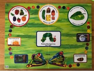 Speelgoed | Educatief en Creatief Rupsje Nooitgenoeg  bordspel