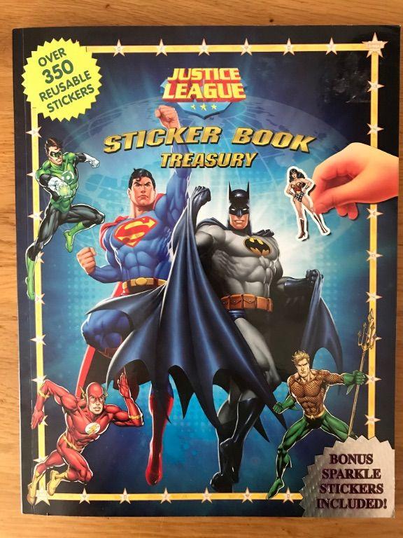 Justice League Sticker Book Treasury