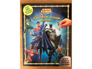 Justice League Sticker Book Treasury