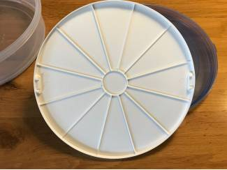Bakken en koken Sunware taartdoos met lift