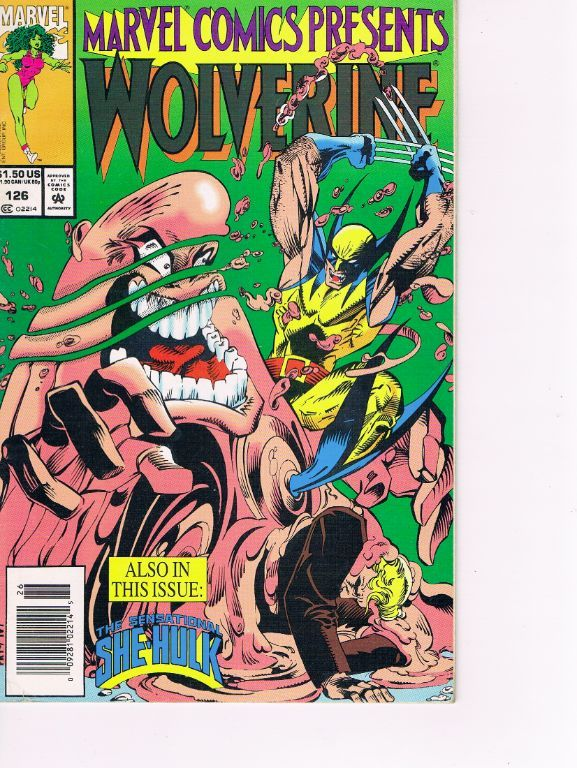 Marvel Comics presents Wolverine/Ghost Rider nr. 126