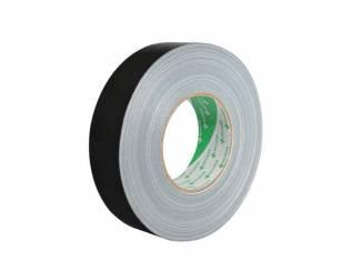 Nichiban Standard gaffa / gaffer tape, zwart, 38 mm, 50 meter