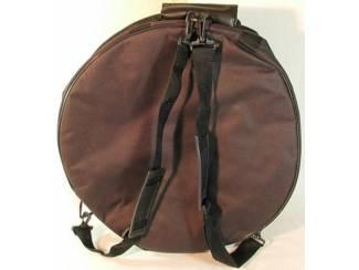 Koffers, hoezen en behuizingen Hoes voor snaredrum of Bodhran met extra vak 14 x 6,5 inch