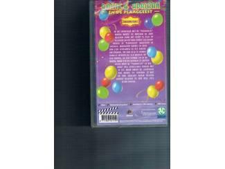VHS | Kinderprogramma's en Kinderfilms Video Bassie en Adriaan en de plaaggeest 1 en 2
