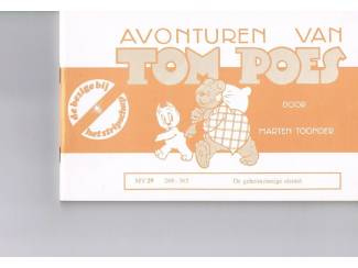 Tom Poes MV 29 – De geheimzinnige sleutel.