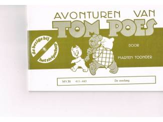 Tom Poes MV 31 – De zeeslang
