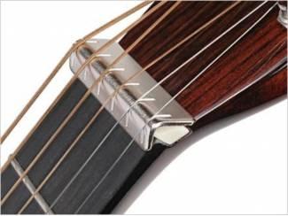 Overige Muziek en Instrumenten Metal nut raiser voor slide gitaar
