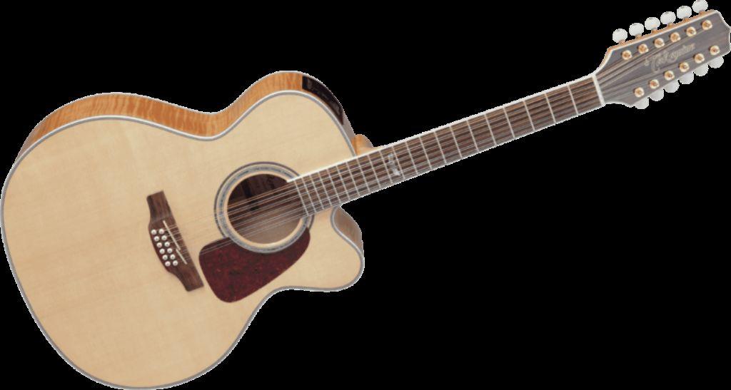 Takamine GJ-72E12 12-snarige electro-akoestische Jumbo gitaar