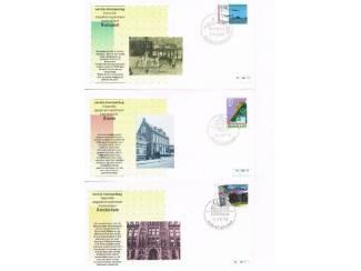 Postzegels   Eerstedagenveloppen Eerste stempeldag bijzonder dagtekeningstempel set 3