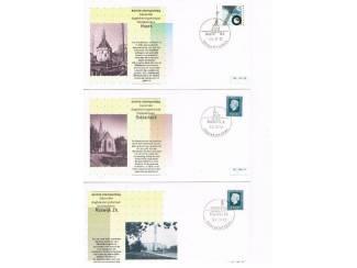 Postzegels | Eerstedagenveloppen Eerste stempeldag bijzonder dagtekeningstempel set 4