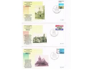 Postzegels   Eerstedagenveloppen Eerste stempeldag bijzonder dagtekeningstempel set 5