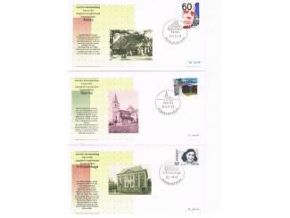 Postzegels | Eerstedagenveloppen Eerste stempeldag bijzonder dagtekeningstempel set 6