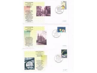 Postzegels | Eerstedagenveloppen Eerste stempeldag bijzonder dagtekeningstempel set 7