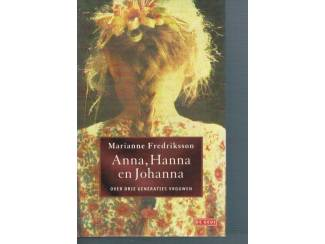 Marianne Frederiksson – Anna, Hanna en Johanna