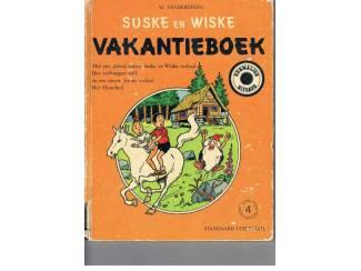 Suske en Wiske Vakantieboek nr. 4 – 1976 – rugklachten