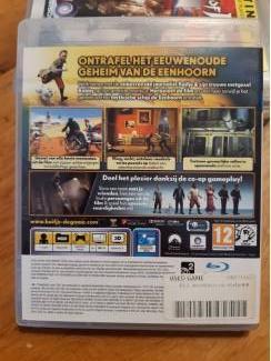 Games | Sony PlayStation 3 PS3 - Kuifje - Het geheim van de eenhoorn