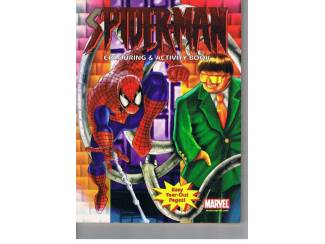 Spiderman Colouring & Activity Book